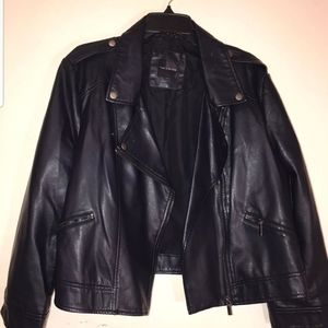 The limited Faux Leather Jacket